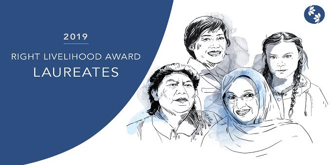 Right Livelihood Award 2019