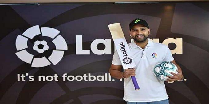 Rohit named La Liga's first India brand ambassador