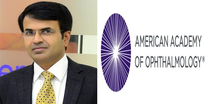 Santosh G Honavar, India's ophthalmologist is conferred with American Academy of Ophthalmology's (AAO)