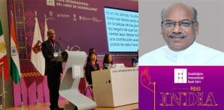 Shri Sanjay Dhotre inaugurates the India Pavilion at International Book fair