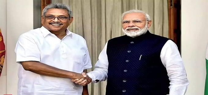 Sri Lankan President Gotabaya Rajapaksa's three-day visit