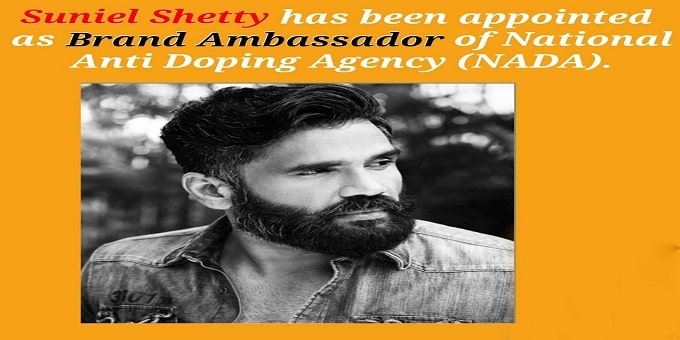 Suniel Shetty becomes brand ambassador of NADA