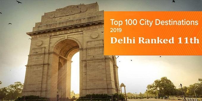 Top 100 City Destinations list_ Delhi ranked 11th