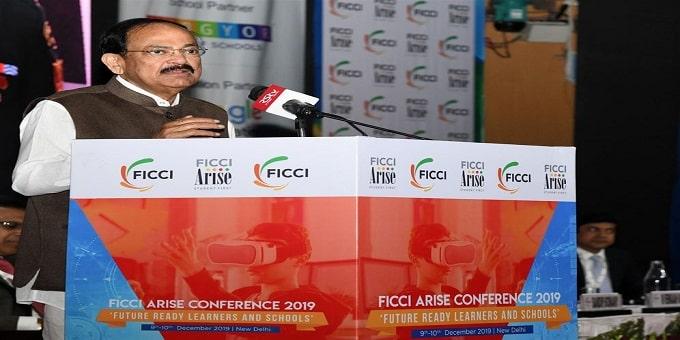 Venkaiah Naidu at the FICCI ARISE Conference