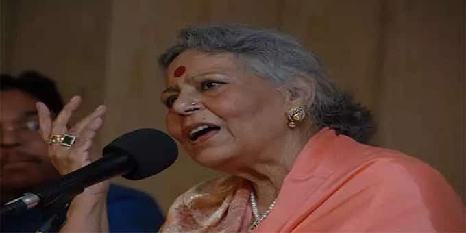 classical vocalist Vidushi Savita Devi
