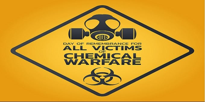 Day of Remembrance for all Victims of Chemical Warfare logo icon