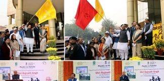 rajnath-singh-flagged-off-massive-campaign-against-single-use-plastic