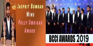 BCCI ANNUAL AWARDS 2018-19
