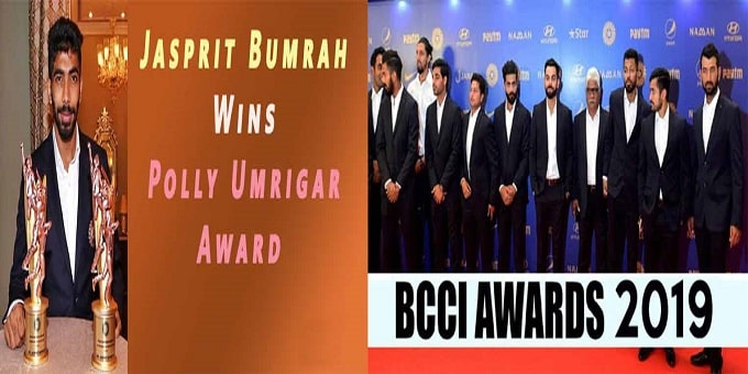 BCCI ANNUAL AWARDS 2018-19