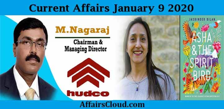 Current Affairs Today January 9 2020