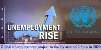 Global unemployment projected
