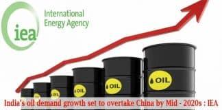Indias oil demand growth