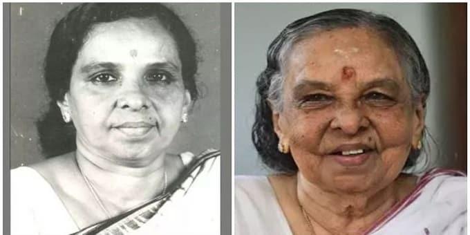 Kerala Minister M. Kamalam