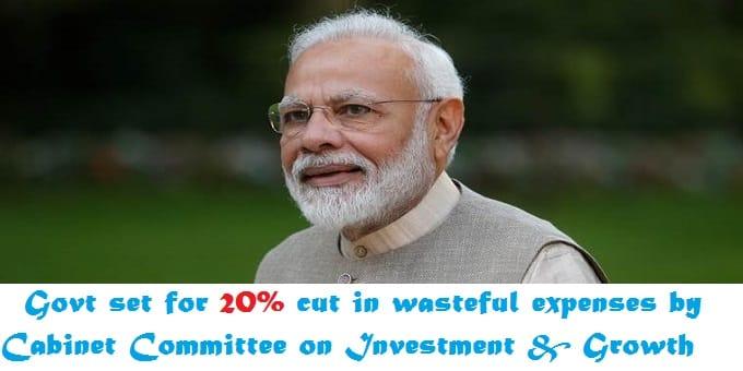 govt set 20%