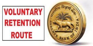 RBI Voluntary Retention Route