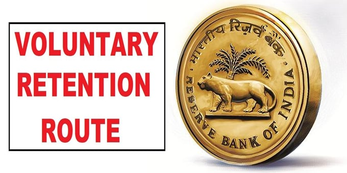 RBI Voluntary Retention Route