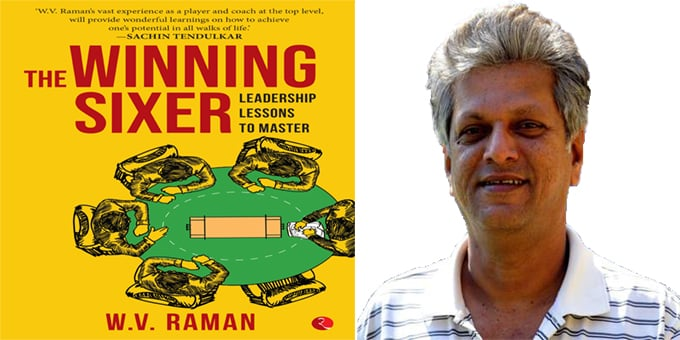 WV Raman authored book 'The Winning Sixer',