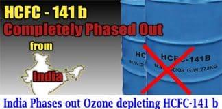 ozone depleting HCFC-141 b chemical
