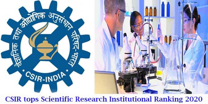 CSIR tops scientific research