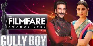 Gully Boy awards at Filmfare new