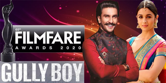Gully Boy awards at Filmfare new