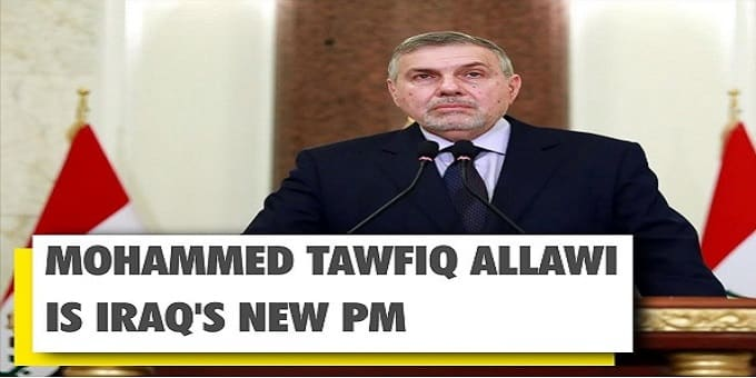 Iraqi president appoints Mohammed Allawi new
