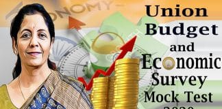 Union budget & economic survey 2020