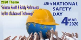 49th National Safety day 2020 new
