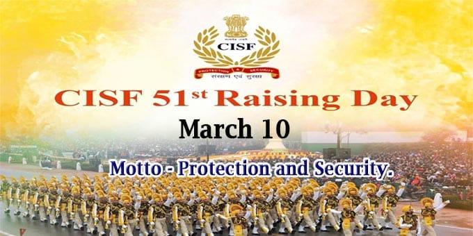 51st CISF Raising Day