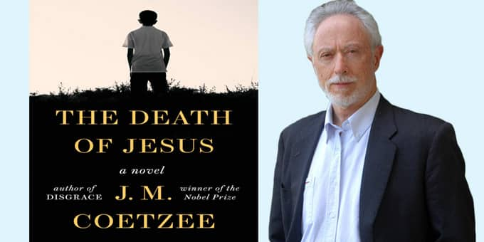 A book titled The Death of Jesus authored by JM Coetzee