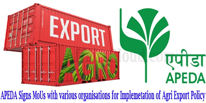 Agri Export Policy