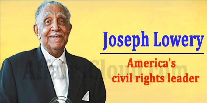 America civil rights leader Joseph Lowery dies