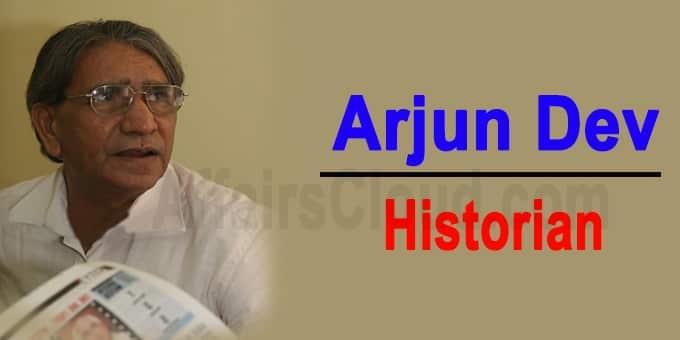 Arjun Dev a legendary historian
