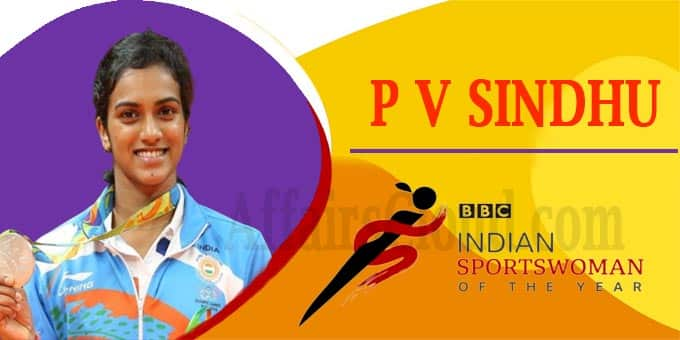 BBC Indian Sportswoman honour for Sindhu