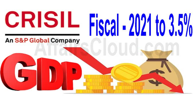 CRISIL cuts GDP growth forecast for fiscal 2021