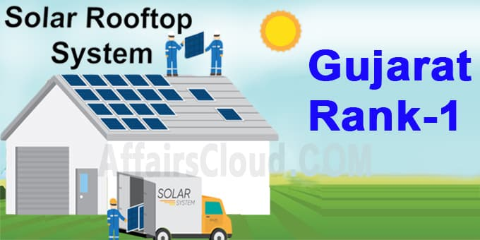 Gujarat tops in domestic solar rooftop installations new
