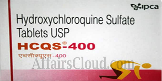 Hydroxychloroquine now a schedule H1 drug