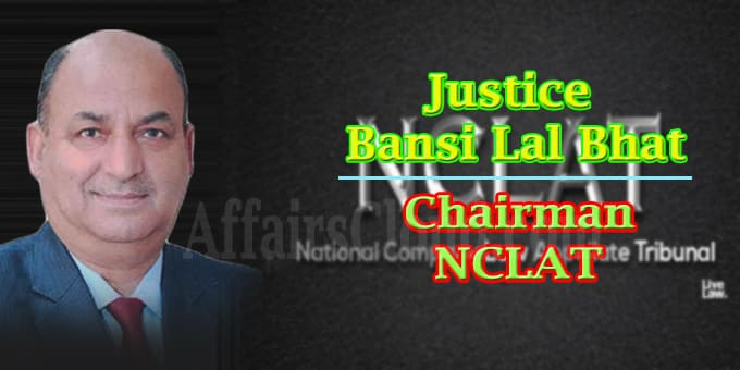 Justice B L Bhat as officiating chairman of NCLAT