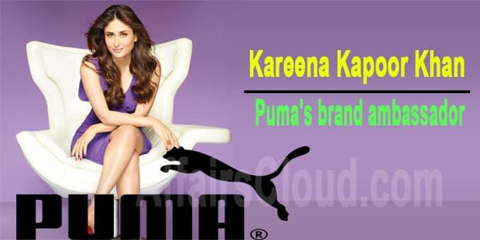 Kareena kapoor Puma's brand ambassador 1