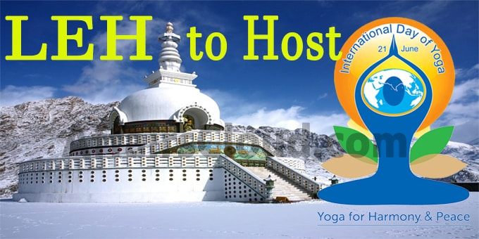 Leh to host International Yoga Day