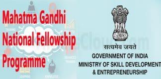 MSDE launches Mahatma Gandhi National Fellowship programme