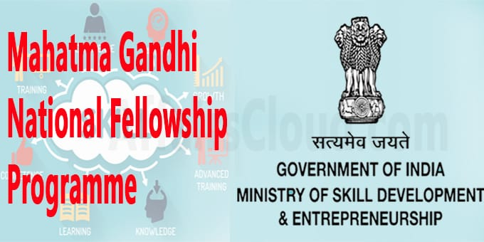 MSDE launches Mahatma Gandhi National Fellowship programme