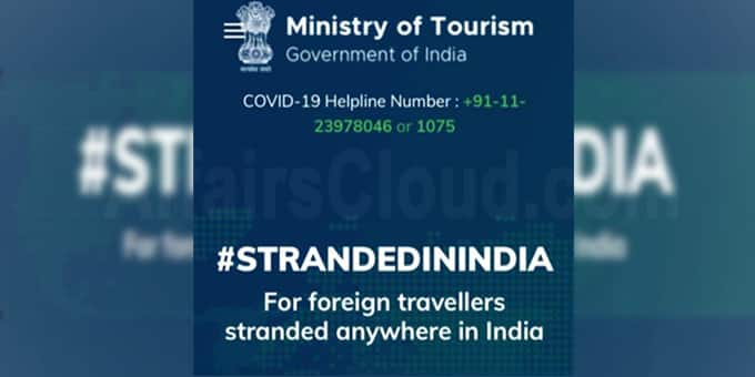 Ministry of Tourism launches Stranded in India portal