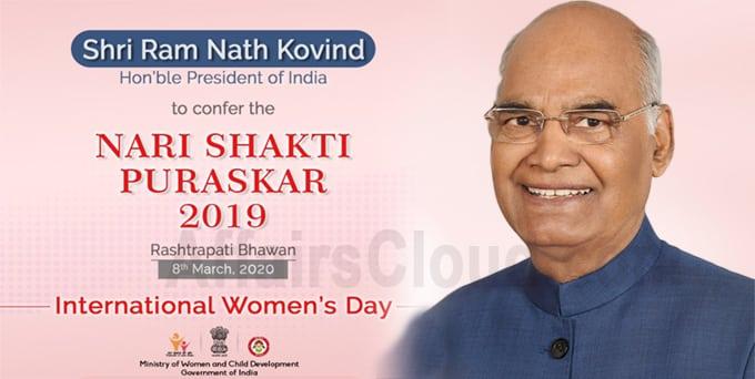 Nari Shakti Puraskar for 2019