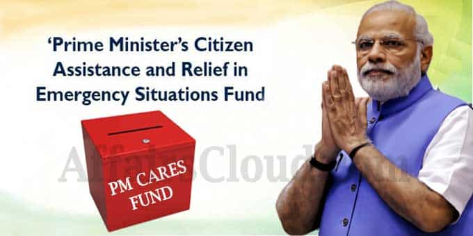 PM Narendra Modi announces PM-CARES fund
