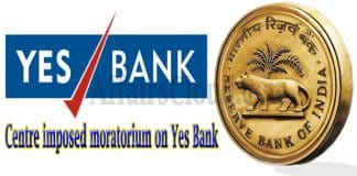 RBI imposed moratorium on Yes Bank