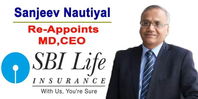 SBI Life re appoints Sanjeev Nautiyal