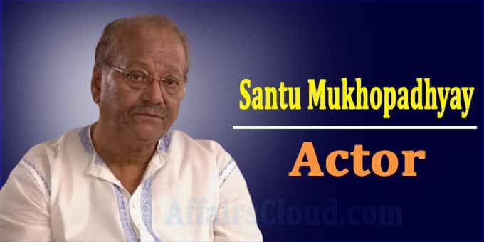 Santu Mukhopadhyay dead