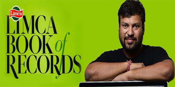 Satyarup Siddhanta enters Limca Book of Records