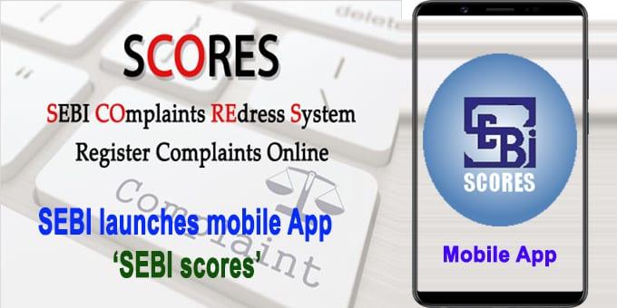 Sebi launches mobile app Sebi SCORES